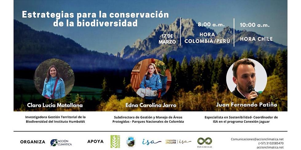 Estrategias para la conservación de la biodiversidad