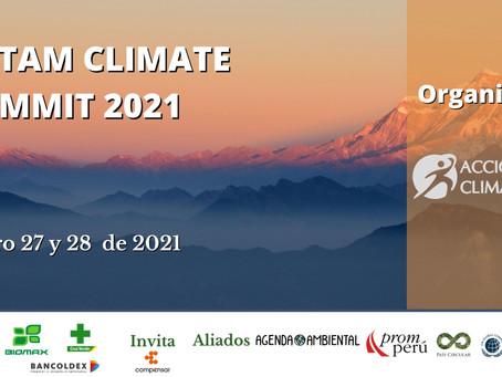 AGENDA LATAM CLIMATE SUMMIT 2021