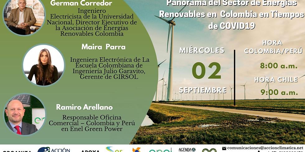 Panorama del Sector de Energías Renovables en Colombia en tiempos de COVID19