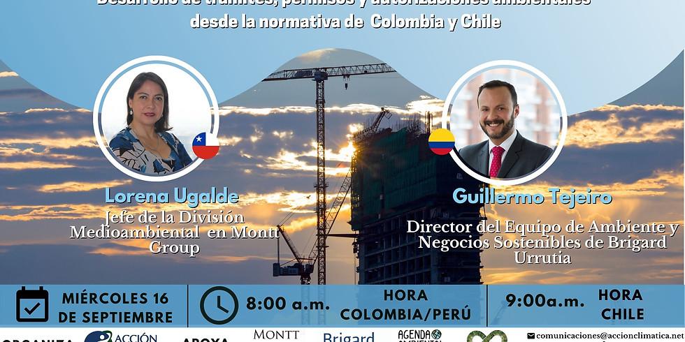 Desarrollo de trámites, permisos y autorizaciones ambientales desde la normativa de Colombia y Chile