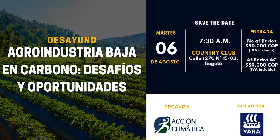 Agroindustria Baja en Carbono: Desafíos y Oportunidades