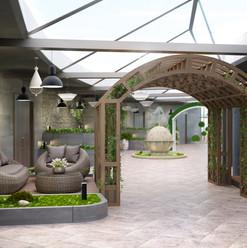 Зимний сад, Оранжерея строительство и благоустройство GoGardenspb