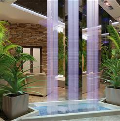 Оранжерея дома Водопад домашний строительство и проектирование