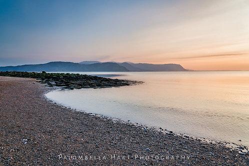 Llandudno West shore Beach Sunset