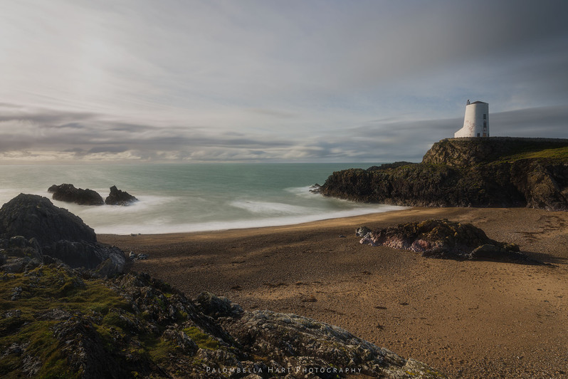 The Sun Breaking through at Twr Mawr Lighthouse