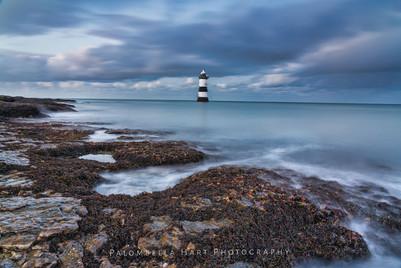 Blue Hour at Trwyn Du Lighthouse