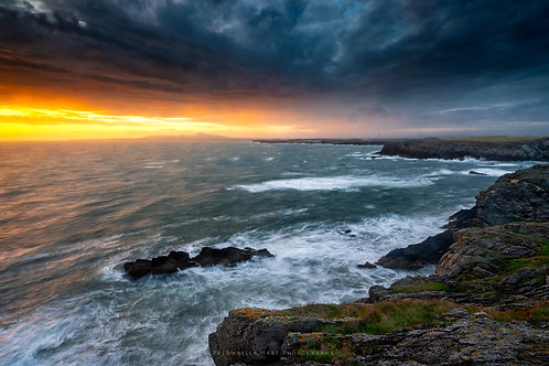 Stormy Sea on Anglesey