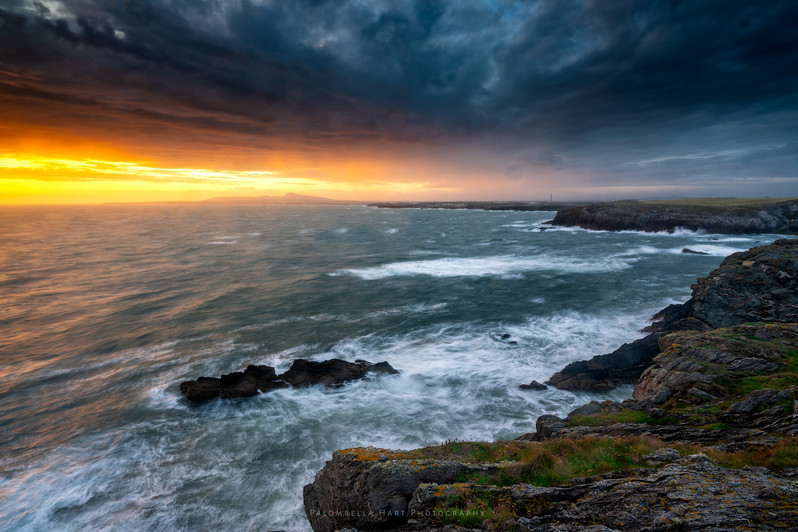 Stormy Sea at Anglesey