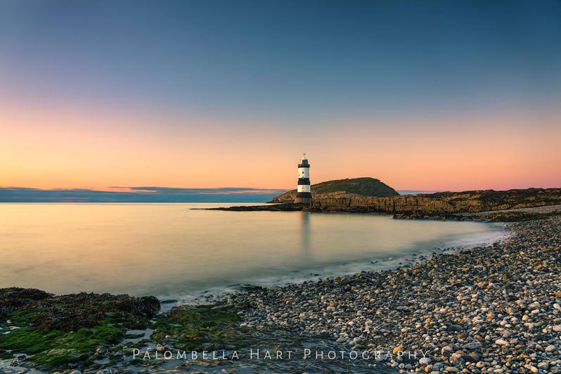 Sunset at Penmon Point Lighthouse