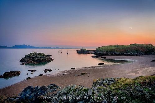Sunset at Ynys Llanddwyn