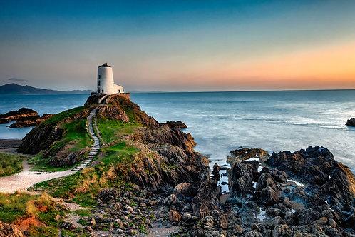 Sunset at Twr Mawr Lighthouse