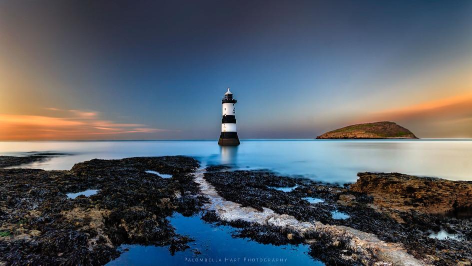 Trwyn Du Lighthouse 'long exposure''
