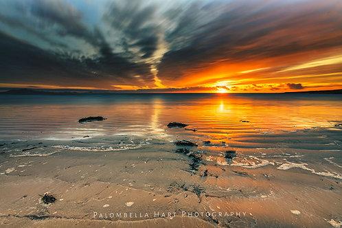 Aberffraw Beach Golden Hour