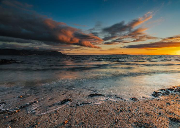 West Shore Beach Sunset