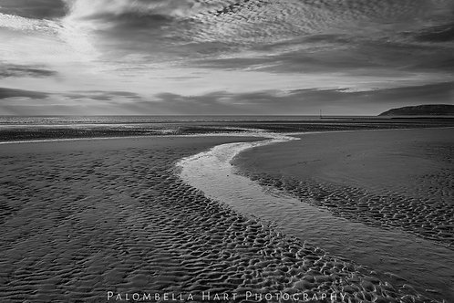 Shapes in the Sand (wide angle)