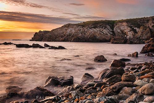 Sunset at Porth Saint