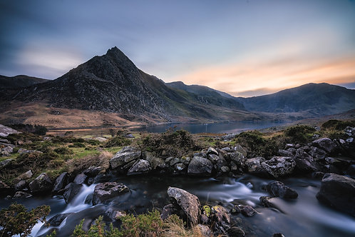 Tryfan Mountain Sunset