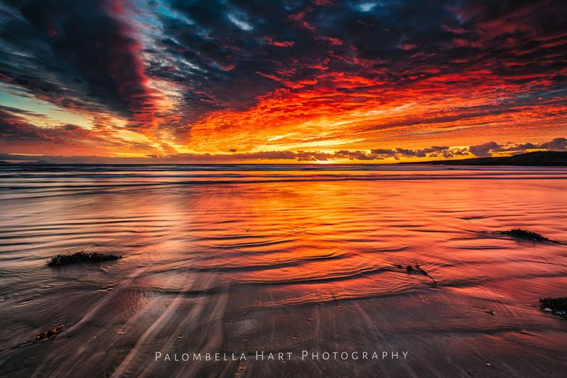 A Beautiful Sunset at Traeth Mawr