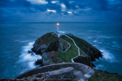 Storm at South Stack Lighthouse