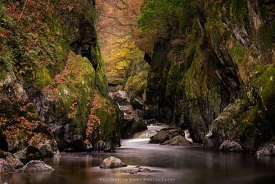Fairy Glen in Autumn