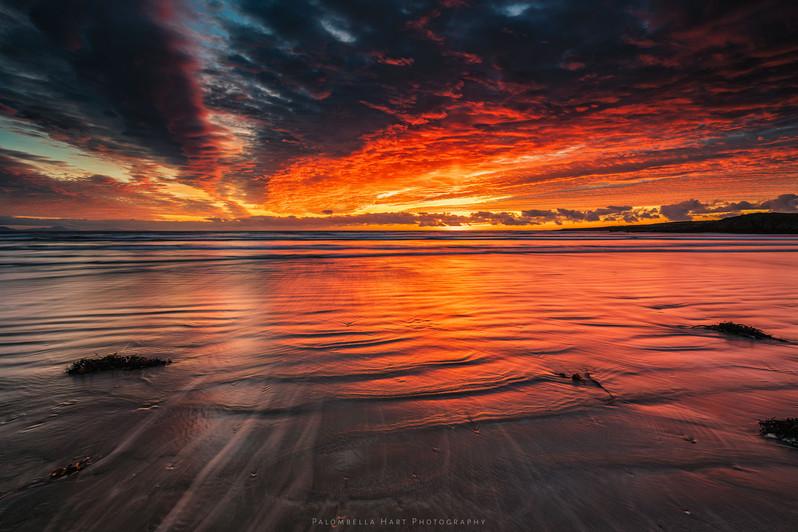 Beautiful Sunset at Traeth Mawr