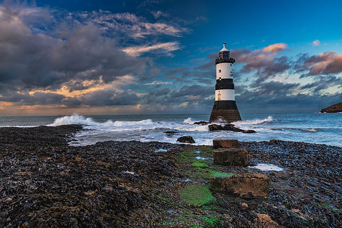 After the Storm at Trwyn Du Lighthouse