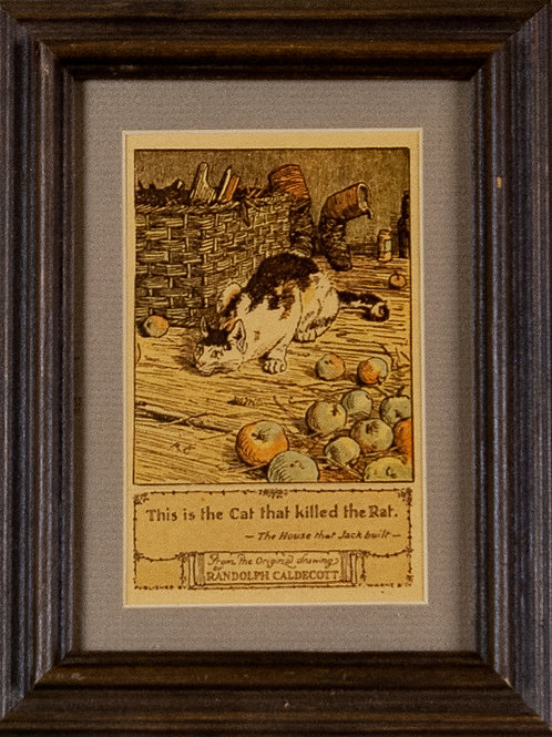 59 The Cat who Ate the Rat (Print) | The Cat who Ate the Rat (Estampe numéri...