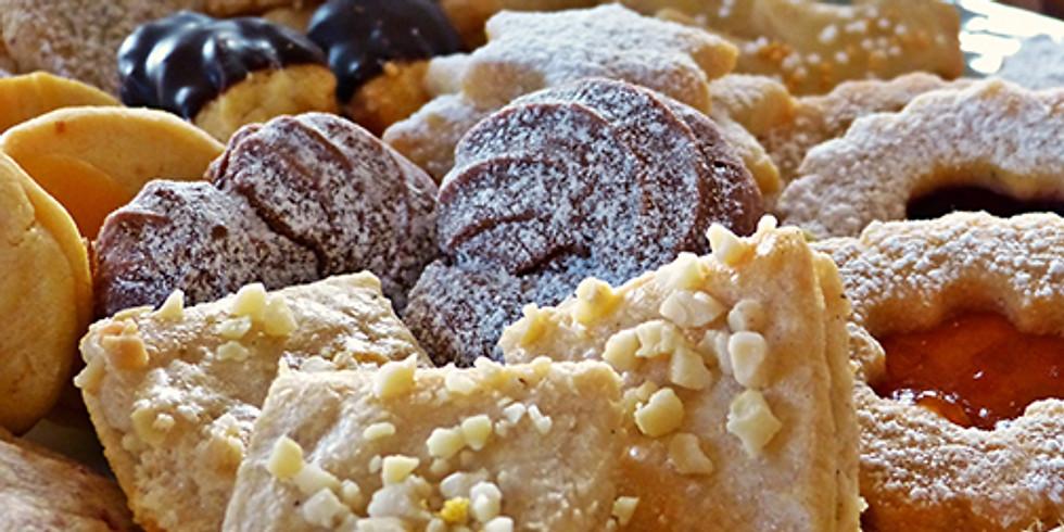 Vente de gâteaux de Noël