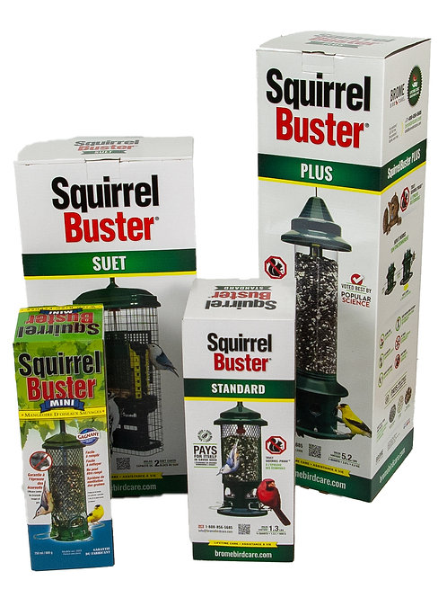 115 Squirrel Buster Suet Bird Feeder | Mangeoire à suif Squirrel Buster