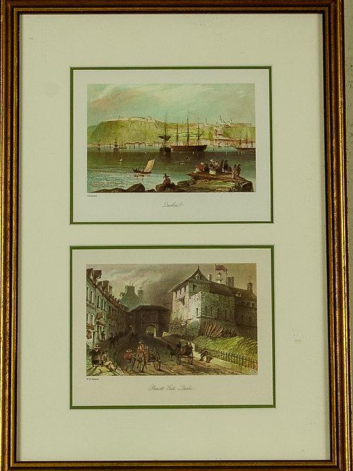 126 W.H. Barlett Double Print | Estampes numériques W.H. Barlett