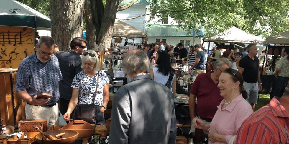 Antiques Market // Marché d'antiquités et artisanat