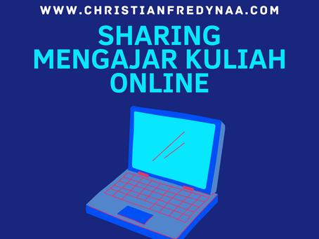 Sharing Mengajar Kuliah Online