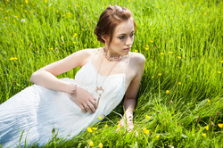 Portrait Photography Girl in Grass