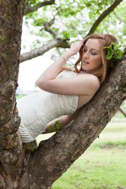 Wedding Photography Bride in Tree