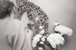 Wedding Photography Bride Reflection