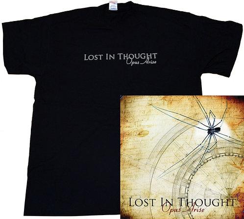 Opus Arise Plain T-Shirt & Album Bundle