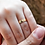 Thumbnail: Par de Alianças Quadradas em Moeda e Prata 4 mm com Anel Solitário Moeda Brinde