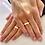 Thumbnail: Par de Alianças Tradicional em Ouro 18K e Prata 5 mm