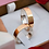 Thumbnail: Par de Alianças Quadrada em Moeda e Prata 5 mm com Anel Solitário de Brinde