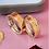 Thumbnail: Par de Alianças Reta em Ouro 18K e Prata 6 mm