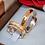 Thumbnail: Par de Alianças Côncava em Ouro 18K e Prata 6 mm