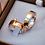 Thumbnail: Kit Par de Alianças em Ouro 18K e Prata 5 mm + Anel Solitário 14K