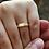 Thumbnail: Par de Alianças Tradicional em Ouro 18K e Prata 4 mm