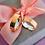 Thumbnail: Par de Alianças Reta em Ouro 18K e Prata 6 mm com Zirconias