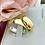 Thumbnail: Par de Alianças Tradicional em Ouro 18K e Prata 6 mm