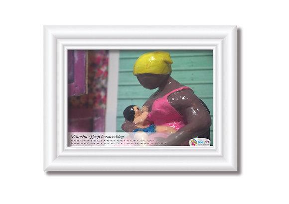 schilderij Wanita