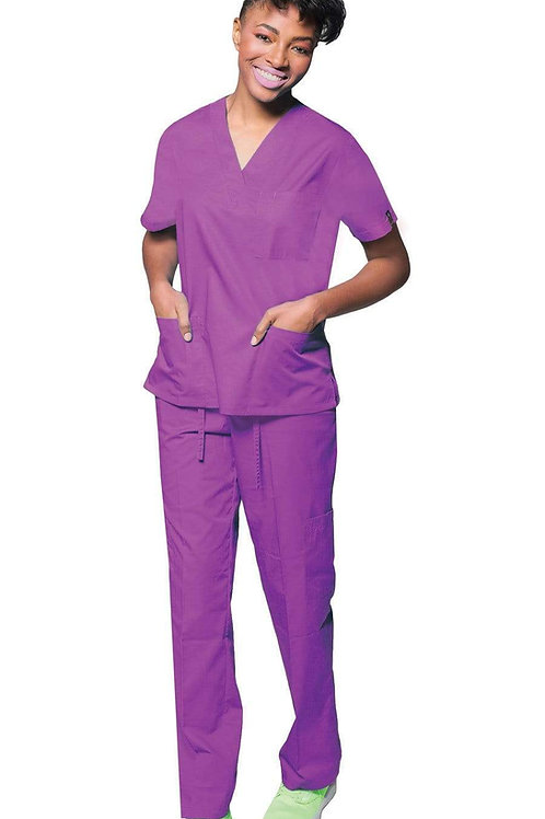Unisex Classic 7 Pocket Basic Uniform Scrubs