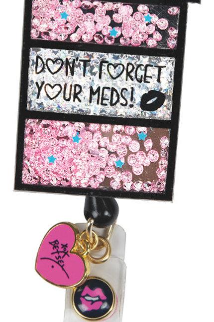 Koi Farmacy Badge Reel Bling