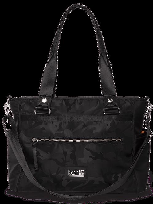 Koi Black Camo Nurse Bag