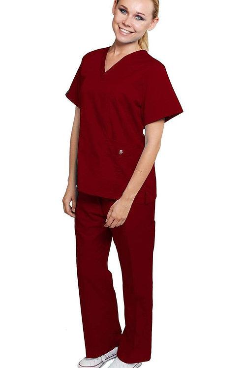 Women's 11 Pocket Slim Fit Uniform Scrubs (408)
